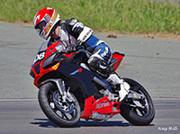 108 Flank Loveridge Aprilia RS4 125