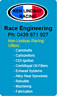 Go To Ken Lindsay Race Engineering Page
